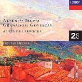 copertina ALBENIZ ISAAC Iberia-navarra (2cd)