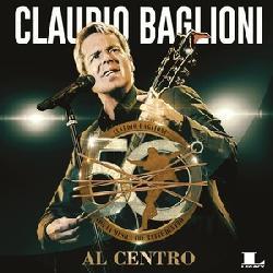copertina BAGLIONI CLAUDIO 50 Anni Al Centro (4cd)