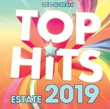 copertina VARI Top Hits Estate 2019 (2cd)