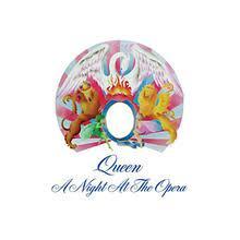 copertina QUEEN A Night At The Opera