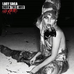 copertina LADY GAGA Born This Way (the Remix)