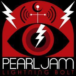 copertina PEARL JAM Lightning Bolt