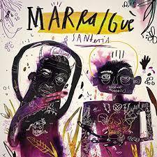 copertina MARRACASH & GUE PEQUENO Santeria