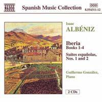 copertina ALBENIZ ISAAC Iberia 1-4 Suite Espanolas 1-2 (2cd)
