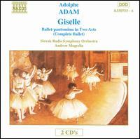 copertina ADAM ADOLPHE Giselle