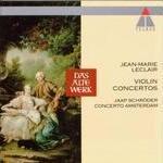 copertina VARI Violin Concertos