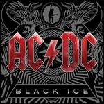 copertina AC/DC Black Ice