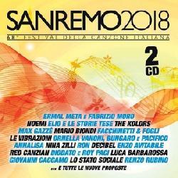 copertina VARI Sanremo 2018 (2cd)