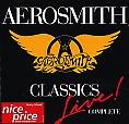 copertina AEROSMITH Complete Classics Live
