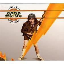 copertina AC/DC High Voltage