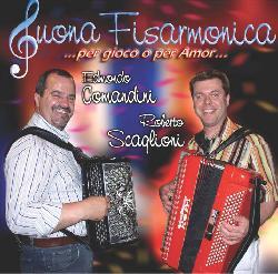 copertina COMANDINI EDMONDO E SCAGLIONI ROBERTO Suona Fisarmonica