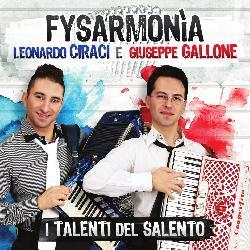 copertina CIRACI LEONARDO E GIUSEPPE GALLONE Fysarmonia