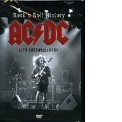 copertina AC/DC Rock'n Roll History Live Performance